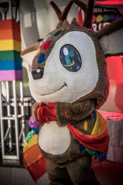LGBTQ mascot