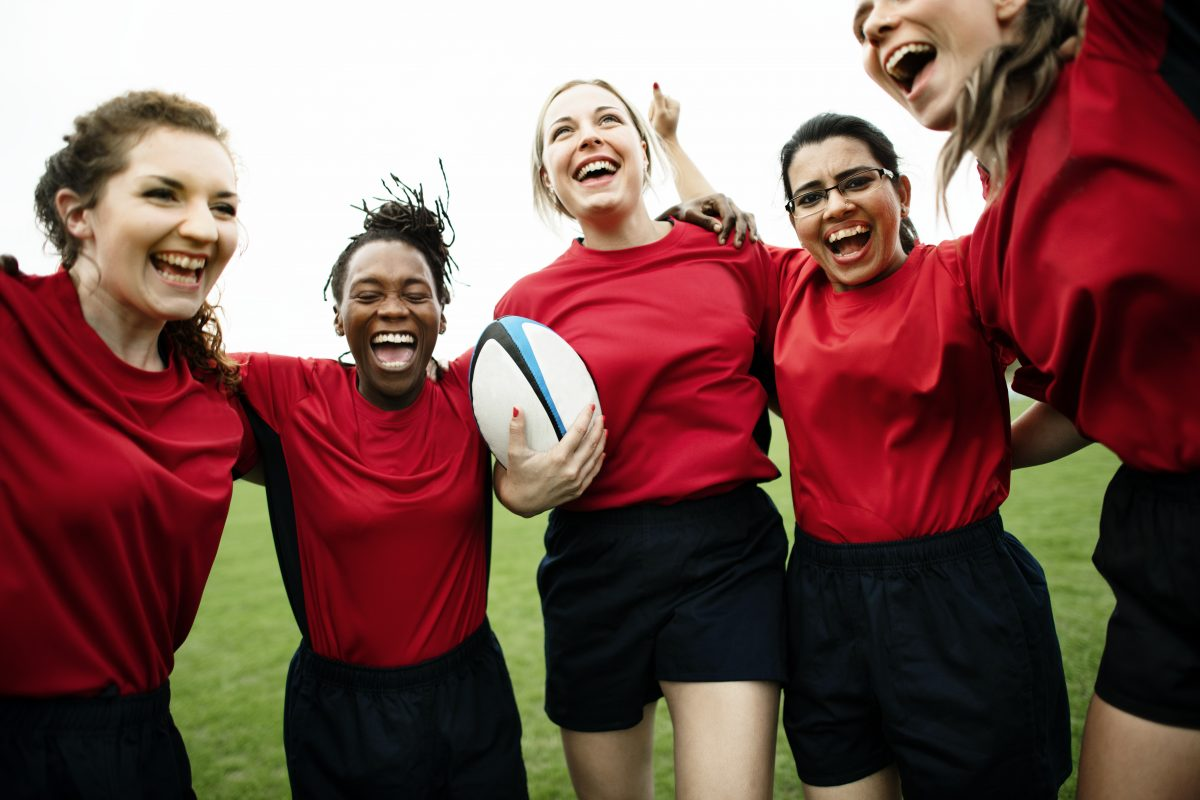 Female Rugby players