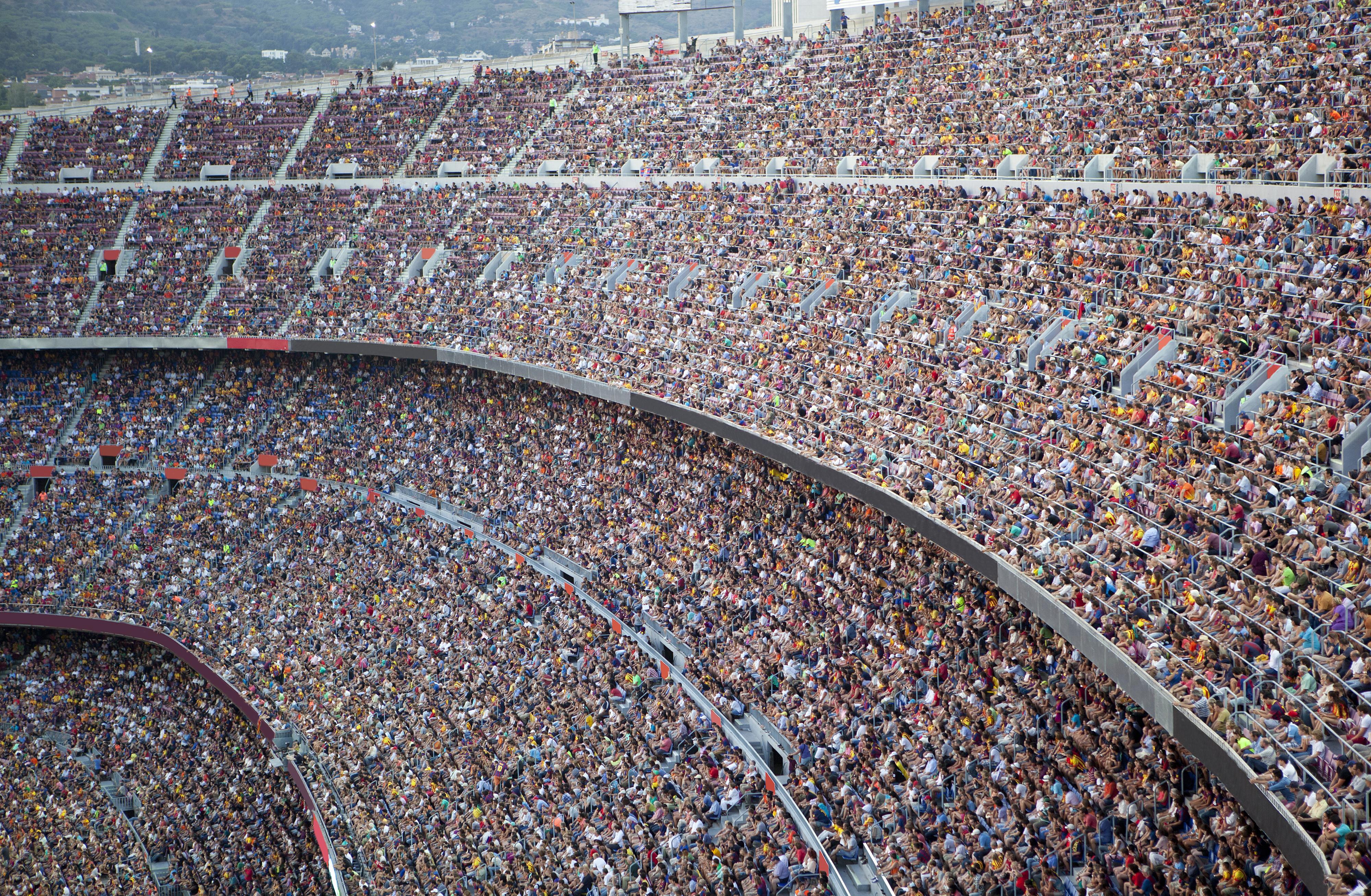 stadium full of spectators