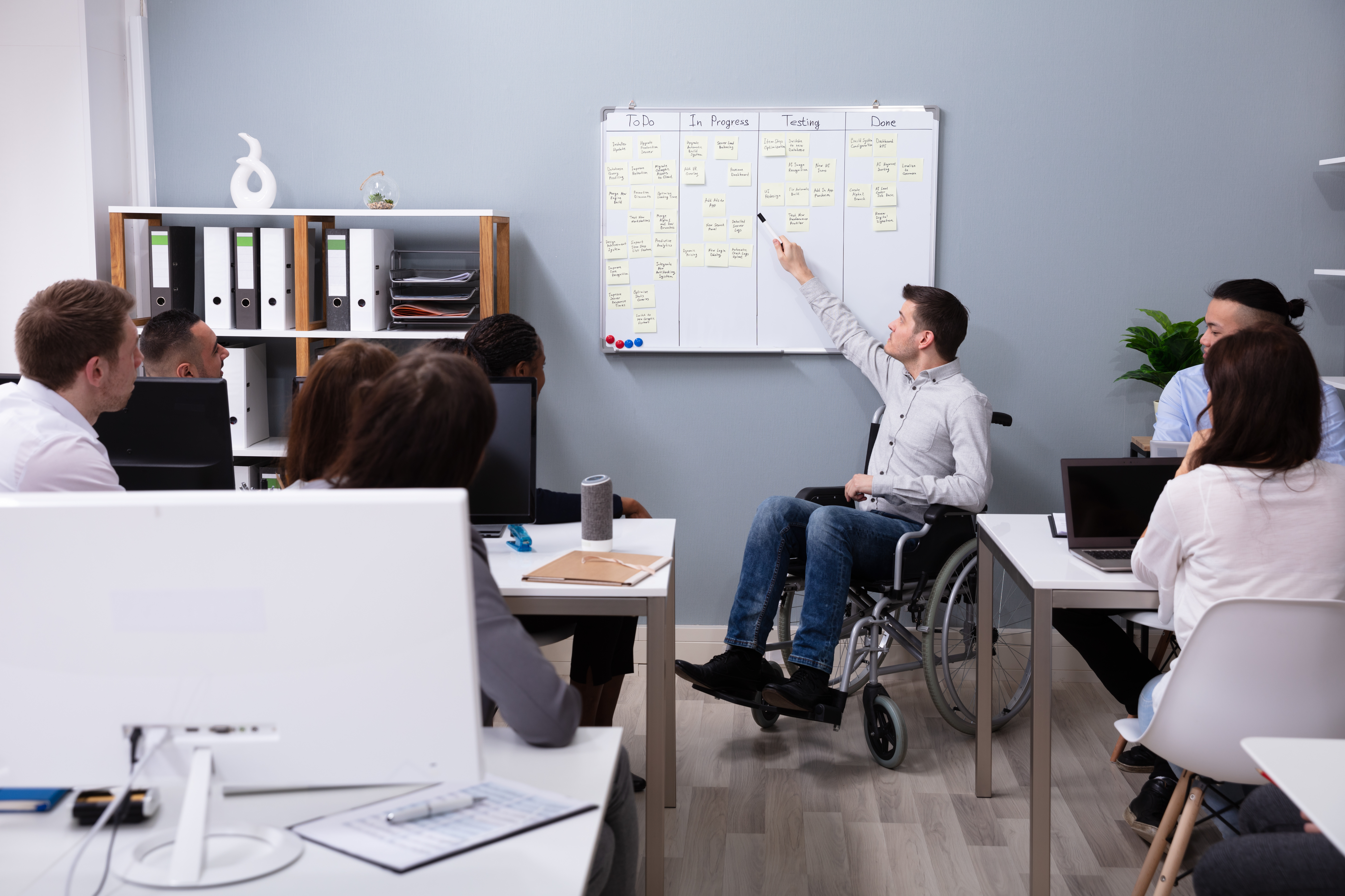 Accessible workplace envrionment