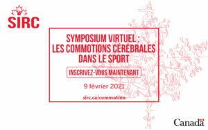 Le symposium 2021 du SIRC sur les commotions cérébrales dans le sport - un graphique qui se lit pour s'inscrire maintenant