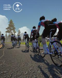 Cycling Canada virtual cyclists 2