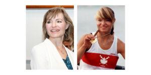 Olympic gold medallist Kathleen Heddle