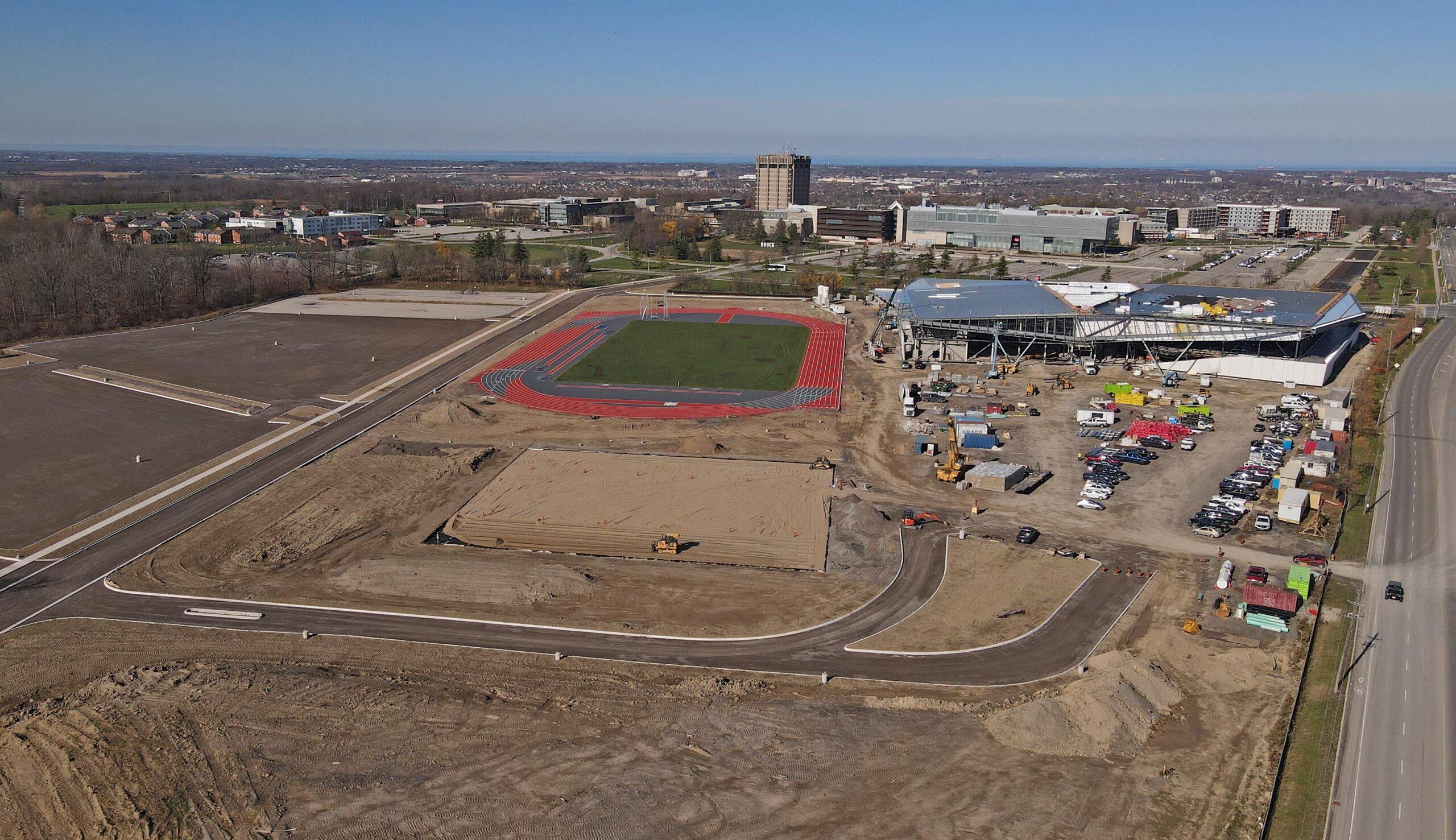 Brock U Canada ames facility development site.