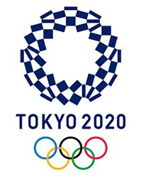 Official logo for the Tokyo 2020 Olympic Games