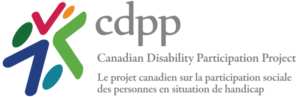 Canadian Disability Participation Project logo
