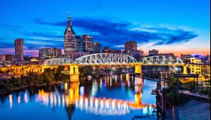 Downtown Nashville – Music City.