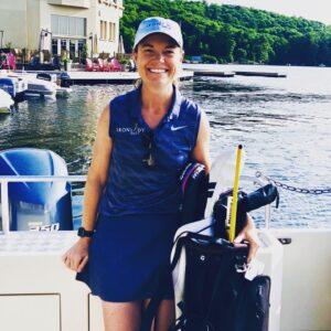 Photo of Lindsay Knowlton, founder of Iron Lady Golf.