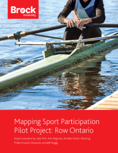 Cover image of PDF: Mapping Sport Participation Pilot Project: Row Ontario